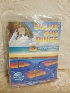 Details about Solar Sun RIngs Swimming Pool Heater Cover Blankets  w/Anchors; 10 Available; New