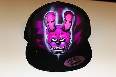Five Nights at Freddy's Bonnie personalized airbrush trucker hat