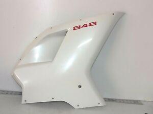 Ducati-07-13-848-EVO-1098-1198-S-SP-R-RIGHT-Mid-Fairing-Cowling-WHITE-2010