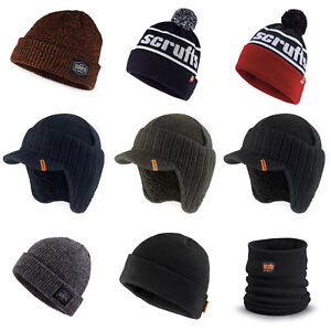 25093d75ae5 Image is loading Scruffs-Hats-Winter-Collection-Thermal-Bobble-Peaked-Beanie -