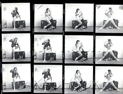 Jeanine Nude on Antique Chest R HENDRICKSON Negatives