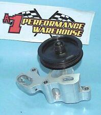 Billet Serpentine Pulley Idler Setup Amp Pump Drive From A R07 Chevy Nascar Engine