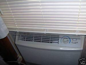 Ac Window Air Deflector Stops Most Banging Shades Amp Blinds