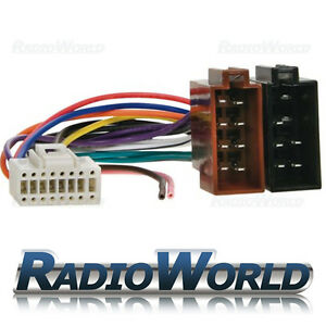 ISO-Wiring-Harness-Connector-Adaptor-Loom-Car-Stereo-Radio-for-Alpine-16-Pin