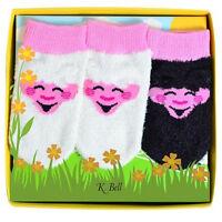 K. Bell Baby's Little Lamb 3 Pair Pack Socks 0-12 One Size - 68596