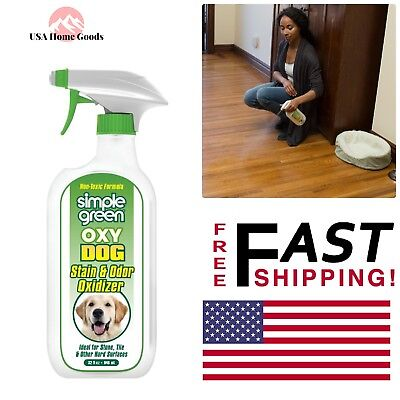 Pet Dog Stain Odor Oxidizer 32 Oz Citrus Scent Non Toxic Floor Carpet Cleaner 43318153037 Ebay