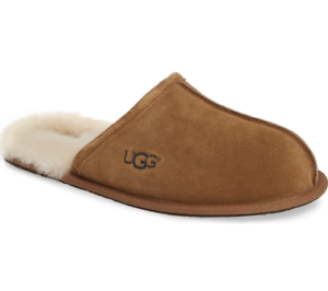 Men-039-s-Ugg-Scuff-Slippers-Chestnut-Size-7