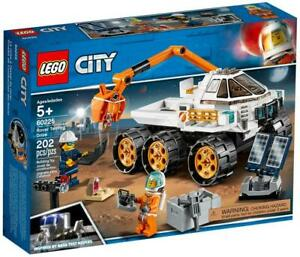 LEGO-City-Space-ROVER-TESTING-DRIVE-with-ASTRONAUT-60225-NEW