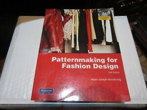 Patternmaking For Fashion Design 5th International Edition 9780135018767 Ebay