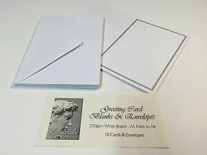 Greeting card blanks envelopes ebay image is loading greeting card blanks amp envelopes m4hsunfo