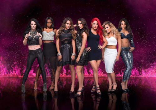 WWE Divas Poster Print 260 gsm A3..A4 A5 Options