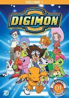 Digimon Season 1 Volume 1 Sealed 3 Dvd Set