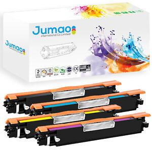 Lot-4-Toners-Jumao-pour-HP-LaserJet-Pro-100-M175nw-TopShot-LaserJet-Pro-CF040A