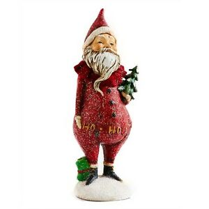 Image Is Loading 7 Inch Santa Holding Tree By KK Interiors
