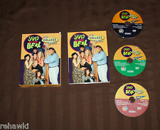 SAVED BY THE BELL - THE COLLEGE YEARS (DVD, 2004, 3-Disc Set) **RARE**
