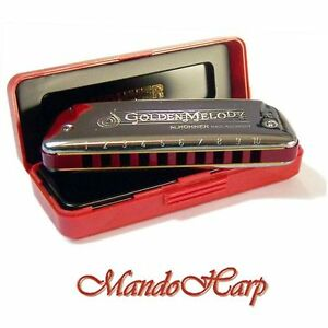 Hohner-Harmonica-542-20-Golden-Melody-SELECT-KEY-NEW