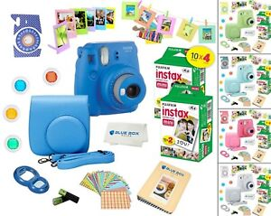Fujifilm-Instax-Mini-9-Instant-Camera-40-Fuji-Film-SHEETS-Accessory-Bundle