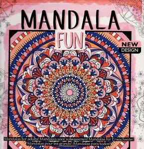 Malbuch für Erwachsene Mandala Fun 72 grün