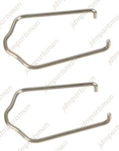 Set of 2 Febi Coolant Hose C-Clip Retainer fits 98-08 Volkswagen 1J0121142