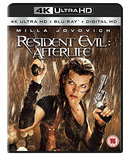 Resident Evil: Afterlife (4K Ultra HD + Blu-ray) [2010] [Region Free] [DVD]