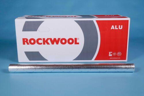 Rockwool RS800 Rohrschale alukaschiert  Rohrisolierung Steinwolle Isolierung
