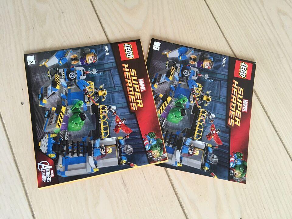 Lego Super heroes, Avengers Hulk Lab Smash 76018