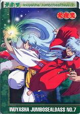 Inuyasha Jumbo Sealdass N.7 - Cartolina - Postcard - Sesshomaru - RARE