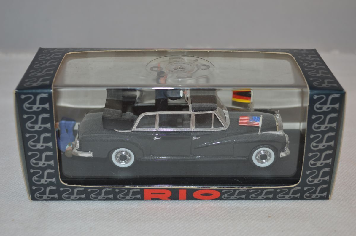 Rio RIO 120 Mercedes Benz 300d limousine 1963 Kennedy Adenauer 1:43 mint in box