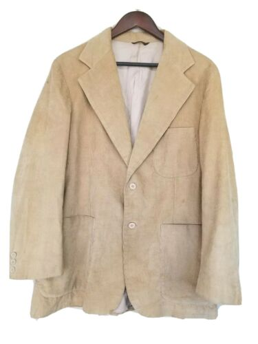 Wildfire LEVI'S men jacket M ? Beige Corduroy ROCK