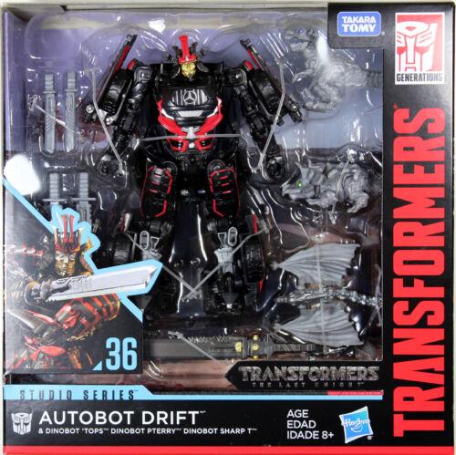 Transformers Studio Series ~ Drift Figure avec bébé Dinobots #36 ~ Deluxe Class
