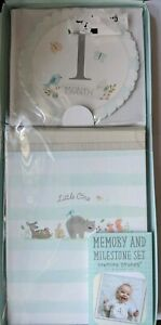 Memory & Milestone Set 1st Year Baby Stepping Stones , Album with belly stickers