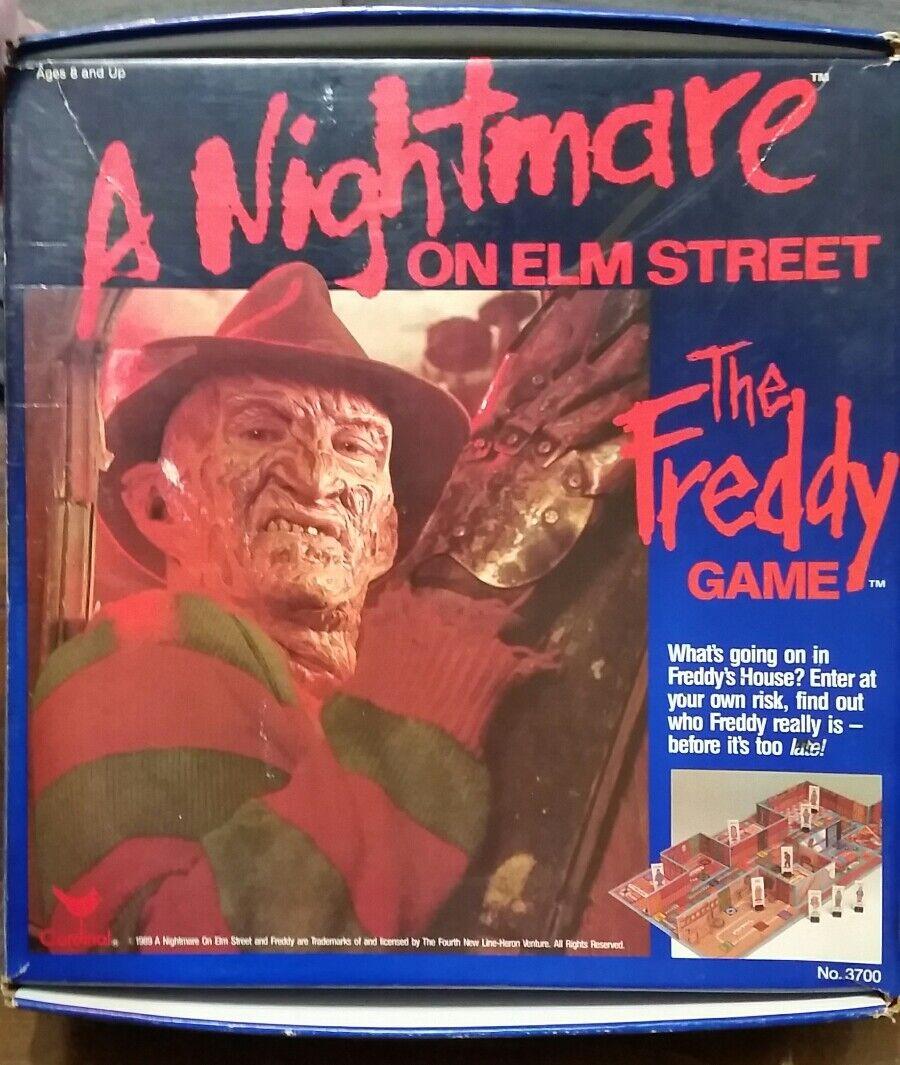 Vintage 1989 A Nightmare on Elm rue  la Frougedy game jeu de société complet  RARE  profitez d'une réduction de 30 à 50%