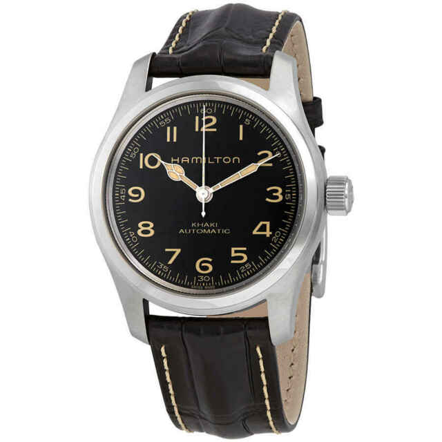Hamilton Khaki Field Murph Automatic Black Dial Men's Watch H70605731