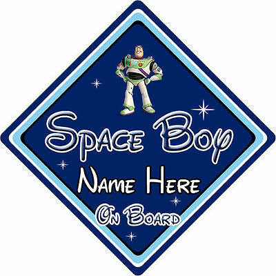 Toy Story Buzz Lightyear Db Amicable Personalised Disney Space Boy On Board Car Sign Other Baby Safety & Health
