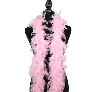 2 Yard Long-Great for Party Wedding White 40 Gram Chandelle Feather Boa