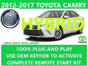 plug \u0026 play remote start toyota camry hybrid 2012 2017 ebay