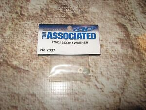 Team Associated RC Car Parts Washers .250 x .125 x .015 7337 2 packs