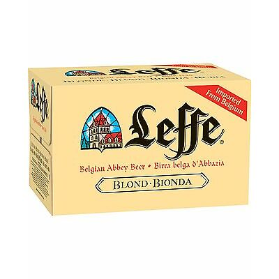 Leffe Blonde Beer 330mL Fully Imported From Belgium Case Of 24