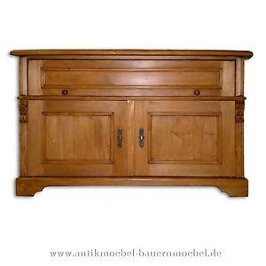 tv schrank hifi m bel tv board tv rack weichholz massiv landhausstil gr nderzeit ebay. Black Bedroom Furniture Sets. Home Design Ideas