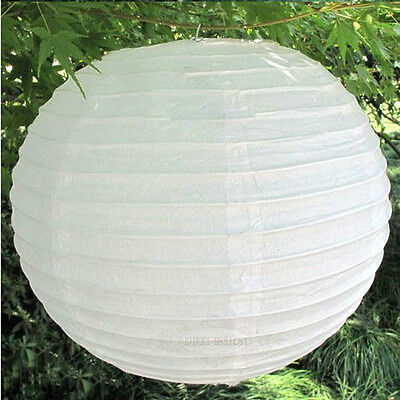 Hot 6'' 8'' 12'' Paper Lanterns Lamp Home Party Wedding Decorations Multi-Color