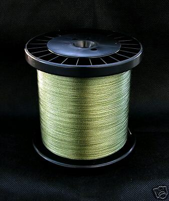 Dynasty Premium geflochtene Angelschnur rund Typ 060 Farbe grün 500m  1m