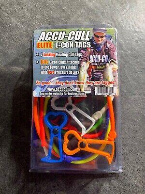 Accu Cull Accucull Tournament Fish Tag Culling Tag Kit ELITE Econ clips USA