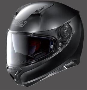 Casque-de-Moto-Integrale-Nolan-N87-Classic-N-Com-Noir-Mat-Sz-XL-Polycarbonate