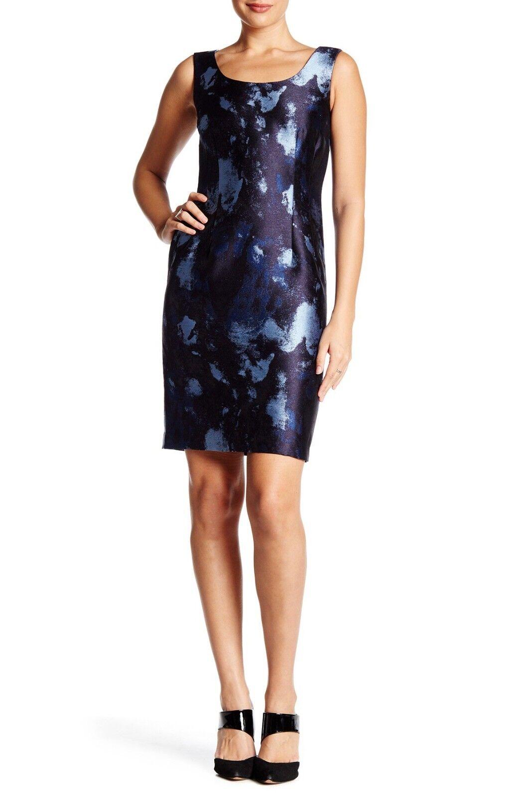 9d0ba8d059e03 LAFAYETTE 148 Rebecca Ink Multi Sleeveless Dress Size NWT 6 ...