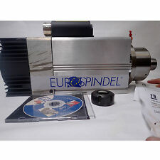 Eurospindel High Speed Spindle Cnc Router Motor Ghe Er 32 New 38 Kw 18k Rpm