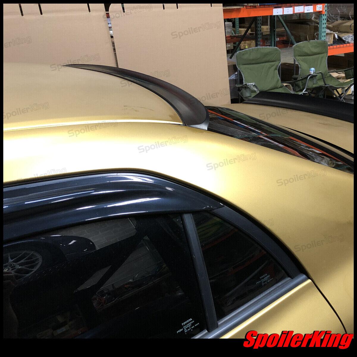 Toyota Corolla 2011-2013 Rear Window Roof Spoiler Polyurethane Wing 284R