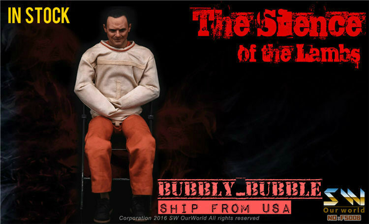 1 6 The Silence of The Lambs Dr. Hannibal Figure Full Set SHIP FROM USA