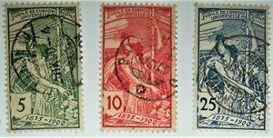 1900-Switzerland-Scott-98-100-used-HCV