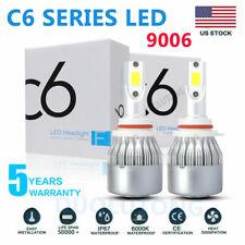 Led Fog Light Bulbs 9006 Hb4 6000k White 100w 20000lm Headlight High Low Beam