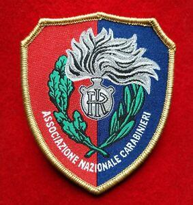 Patch-Toppa-A-N-C-Ass-Naz-Carabinieri-velcro-TELATA-Alta-Definizione